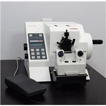 Microm HM355 Rotary Motorized Microtome w/ Foot Switch & Knife Assembly