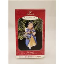 Hallmark Series Ornament 1998 Language of Flowers #3 - Iris Angel - #QX6156-DB