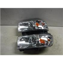 1998 - 2002 DODGE 2500 3500 LED AFTERMARKET HEADLIGHTS 5.9 DIESEL EXC CONDITION