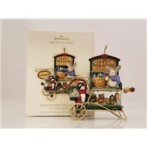 Hallmark Ornament 2007 Hoppy Holidays Decor and More - Kringlewood Farms #QP1937