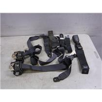 1998 - 2002 DODGE RAM EXTENDED CAB REAR SEAT BELTS CHARCOAL OEM