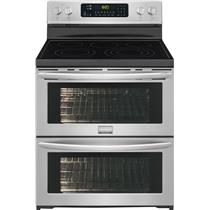 "NIB Frigidaire Gallery 30"" Double Convection Oven Electric Range FGEF306TPF"