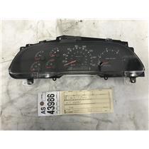 1999 2000 Ford F350 F250 diesel gauge cluster 4wd tag as43986