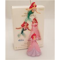 Hallmark Miniature Ornament Set 2008 Ariel's Dream - Little Mermaid - #QXM8131