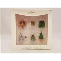 Hallmark Miniature Ornament Set 2007 Green Thumb Gardening - Set of 6 - #QXM8137