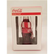 Kurt S. Adler Ornament 2012 Coca-Cola Bottle with Red & White Scarf - #651221RC