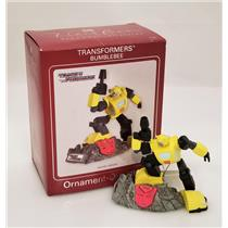 Carlton Heirloom Magic Ornament 2009 Bumblebee - Transformers - #CXOR112V-SDB