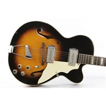 1965 Kay K672 Swingmaster Hollowbody Electric Guitar Bruce Kulick Kiss #34446