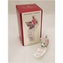 Carlton Heirloom Ornament 2007 Granddaughter - Kitten with Gift List - #CXOR028R