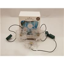 Hallmark Magic 2011 Sparkling Snowflake Ornament Set - Wonder and Light #QXG3679