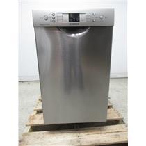 """Bosch 300 Series 18"""" 46 dBA Front Control SS Tall Tub Dishwasher SPE53U55UC"""