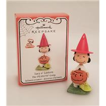 Hallmark Ornament 2012 Lucy O' Lantern - Peanuts Gang Halloween - #QFO5221