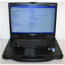 "Panasonic ToughBook 15.4"" CF-52 MK4 Core i5 2.6GHz 4GB 120GB SSD LOW 9.1K HRS!"