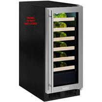 Marvel 15 Inch 2.7 cu. ft 24 bottles PR Single Zone Wine Refrigerator ML15WSF3RP