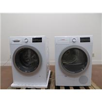 """Bosch 500 Series 24"""" Front Load Washer and Dryer WAT28401UC / WTG86401UC Images"""