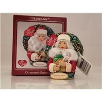 Carlton Ornament 2008 I Love Lucy as Santa Claus - Christmas Show - CXOR104T-SDB