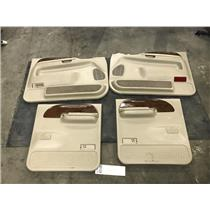 1999-2004 Ford F350 Lariat tan door panels (crew cab) tag as43166