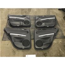 2009-2012 Mercedes ML black door panels as43162