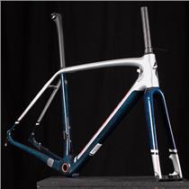 New 2016 S-Works Tarmac DISC Carbon Road Bike Frameset Size 54, Blue Met/SILVER