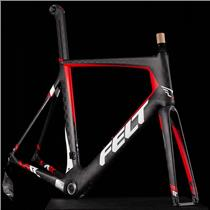 New 2017 Felt AR1 Carbon Road Bike Frame and Fork Size XL or 61, NICE NOS!