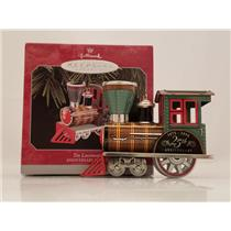 Hallmark Keepsake Ornament 1998 Tin Locomotive - Anniversary Edition - #QX6826