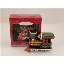 Hallmark Keepsake Ornament 1998 Tin Locomotive - Anniversary Edition #QX6826-SDB