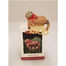 Hallmark Keepsake Series Ornament 1995 Fabulous Decade #6 - Sea Otter - #QX5147