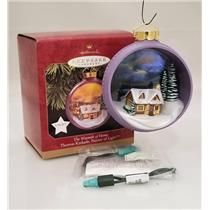 Hallmark Ornament 1997 The Warmth of Home - Thomas Kinkade - #QXI7545
