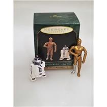Hallmark Miniature Ornament Set 1997 C-3PO and R2-D2 - Star Wars - #QXI4265-SDB