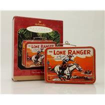 Hallmark Keepsake Ornament 1997 The Lone Ranger Lunch Box - #QX6265