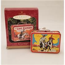 Hallmark Keepsake Ornament 1997 The Lone Ranger Lunch Box - #QX6265-DB