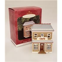 Hallmark Keepsake Series Ornament 1997 Nostalgic Houses #14 - Cafe - #QX6245