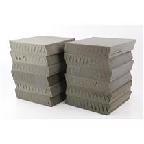 24 Auralex Wedgie Studiofoam Charcoal Gray Acoustic Foam Panels #31680