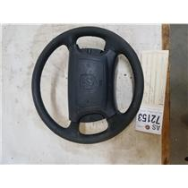 1998-2002 Dodge Cummins 3500 Laramie black leather steering wheel as72149
