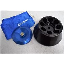 Beckman Coulter F0850 Rotor Tested to 10000 RPM 8 x 50mL Fixed Angle