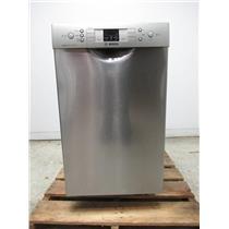 "Bosch 300 Series 18"" Recessed handle 46 dBA Built-In-Dishwasher SPE53U55UC"