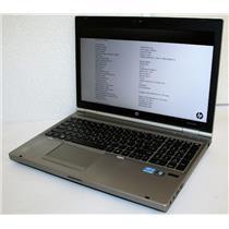 "HP Elitebook 8560p 15.6"" Core i7 2640M 2.8Ghz 8GB500GB AMD RadeonHD 6470M Laptop"
