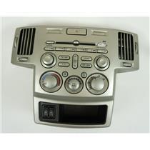2004 2005 Mitsubishi Endeavor Radio Manual Climate Combo Trim Bezel Heated Seats