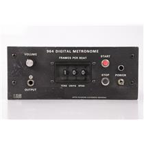 Urei 964 Digital Metronome w/ Pigtail XLR Male-Spade Cable #34637