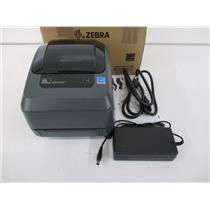Zebra GX42-102510-000 Zebra GX420t Thermal Barcode Label Printer