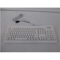 Seal Shield SSWKSV207 Silver Seal Medical Grade Keyboard White USB