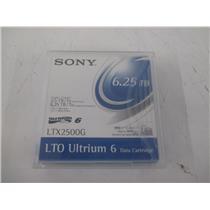 Sony LTX2500G LTO ULTRIUM 6  6.25TB DATA CARTRIDGE