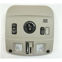 2004-2009 Cadillac SRX Overhead Console with Sunroof Fan Switches, Map Lights