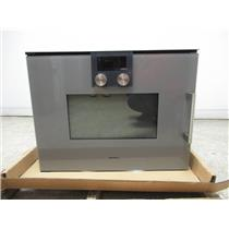 Gaggenau 200 series 15 automatic programs speed microwave oven BMP251710