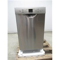 """Bosch 300 Series 18"""" SS 46dBA Tall Tub Stainless Built-In-Dishwasher SPE53U55UC"""