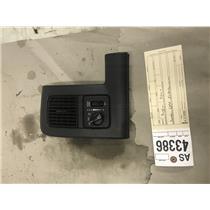 2003-2005 Dodge 2500,3500 5.9L cummins black headlight switch tag as43386