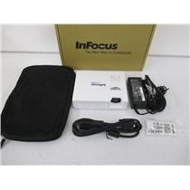 InFocus IN1146 LightPro IN1146 Mobile LED Projector, 1000 Lumens, HDMI