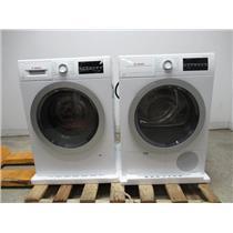 Bosch 500 Series Front Load 15 Progams Washer + Dryer WAT28401UC / WTG86401UC