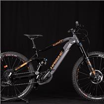 2019 Haibike XDURO ALLMTN 6.0 eMTB Black/Titan 47 L