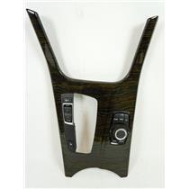 11-14 BMW X3 Shift Floor Trim Bezel Plate iDrive Controller Drive Mode Switch